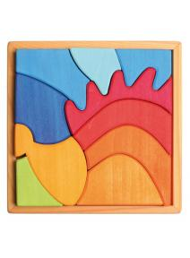 Puzzle de madera Erizo