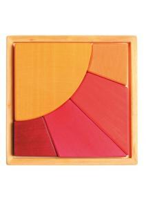 Puzzle de madera Sol
