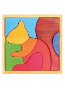 Puzzle de madera Ardilla