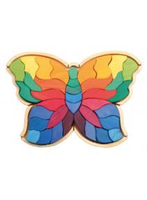 Puzzle de madera Mariposa