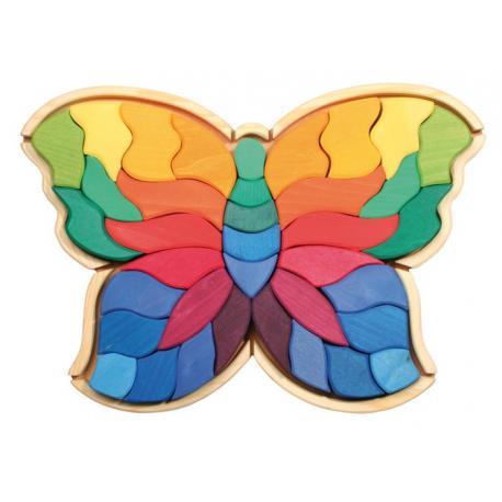 Puzzle Mariposa grande.