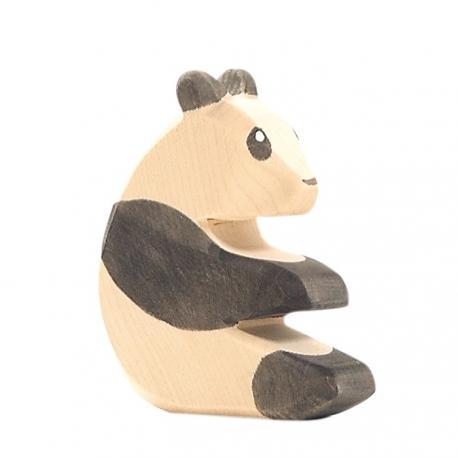 Panda sentado.