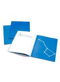 Cuaderno vertical para astronomía