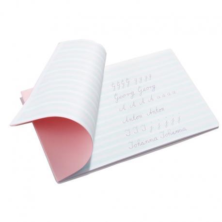 Cuaderno caligrafía
