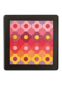 Puzzle magnetico  Pequeña flor roja
