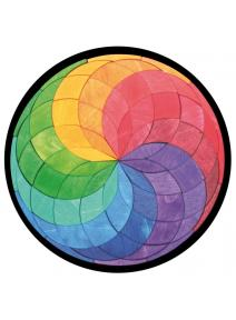 Puzzle magnético grande Espiral de colores