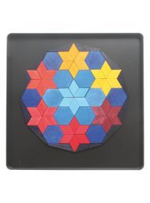 Puzzle magnético Decágono