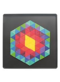 Puzzle mágnetico Hexágono Triángulo