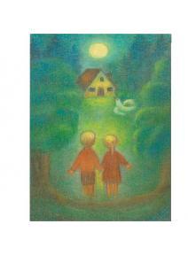 Postal Hansel y Gretel