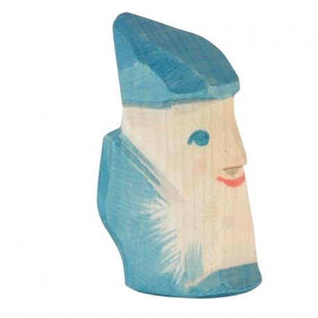 Enanito de madera - Cuarzo.
