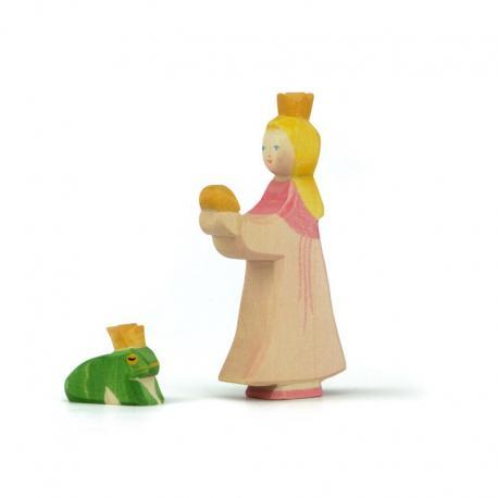 Rey rana y la princesa.