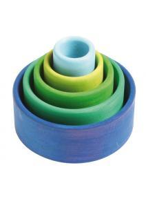 Conjunto de bols - azulturquesa grimms