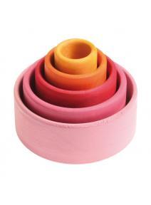 Conjunto de bols - rosa grimms