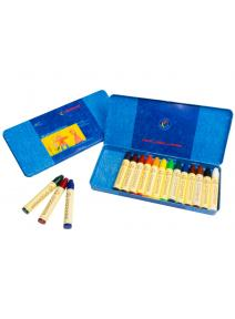 Lápices de cera 16 colores Stockmar