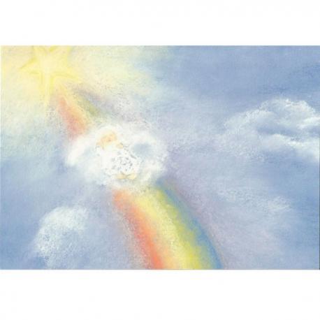 Tarjeta con sobre: El Arco Iris.
