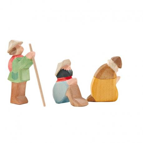 Nacimiento pequeño - los pastores.
