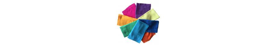 Telas de algodón y seda